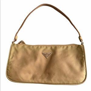 Vintage Prada Tessuto Nylon Green Bag